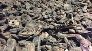 schoenen van Auschwitz-gevangenen