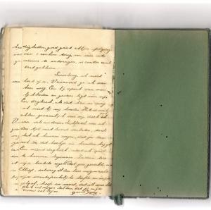 Laatste bladzijde van Bernie's dagboek