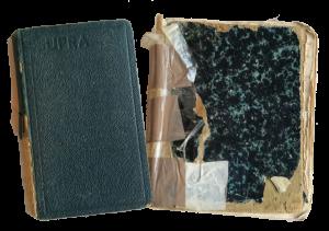 Dagboeken van Bernie (l) en Ellis (r)