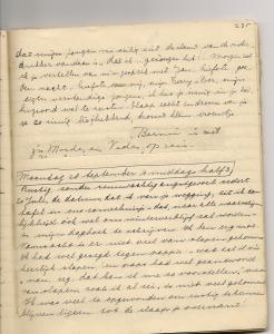Ellis dagboekbrief 27 september 1942