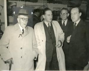 Frans en Ad van Schuppen (midden en rechts)