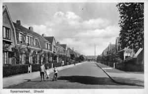Spaarnestraat in Utrecht