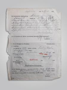 Bewijs dat verraders 7,50 gulden kregen voor arrestatie van een jood