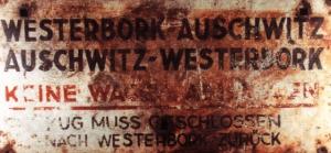 treinbord Westerbork-Auschwitz