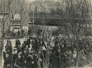 gevangenen bij station Vught